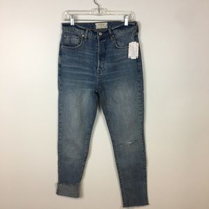 Free People Stella High Waist Jean Size 29